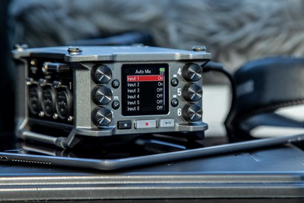 F6 MultiTrack Field Recorder | Zoom