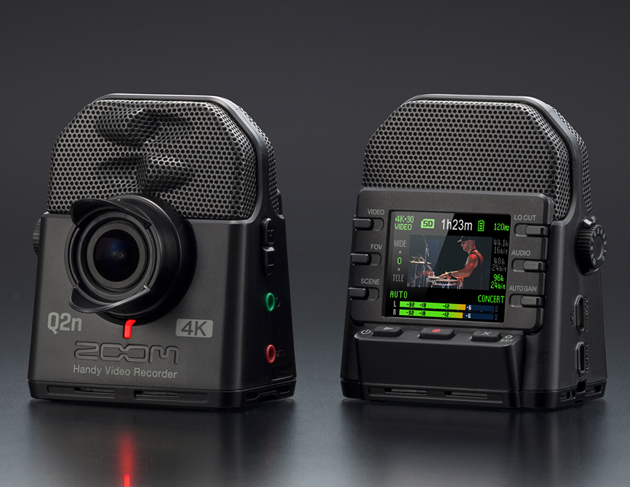 THE Q2n-4K: The 4K Camera for Musicians | Zoom