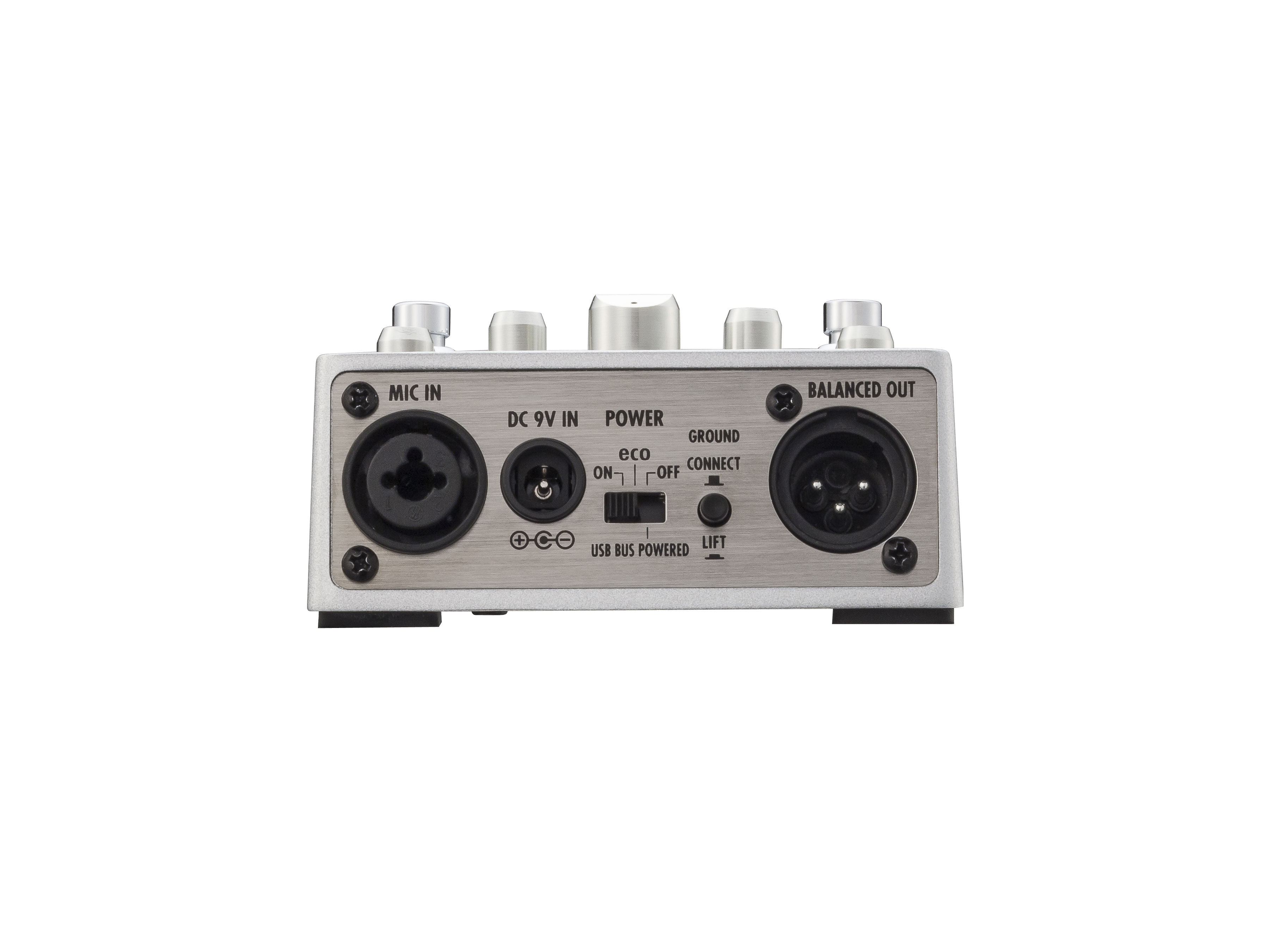 a3 pre amp effects for acoustic guitar zoom zoom a3 pre amp effects for acoustic guitar rear view