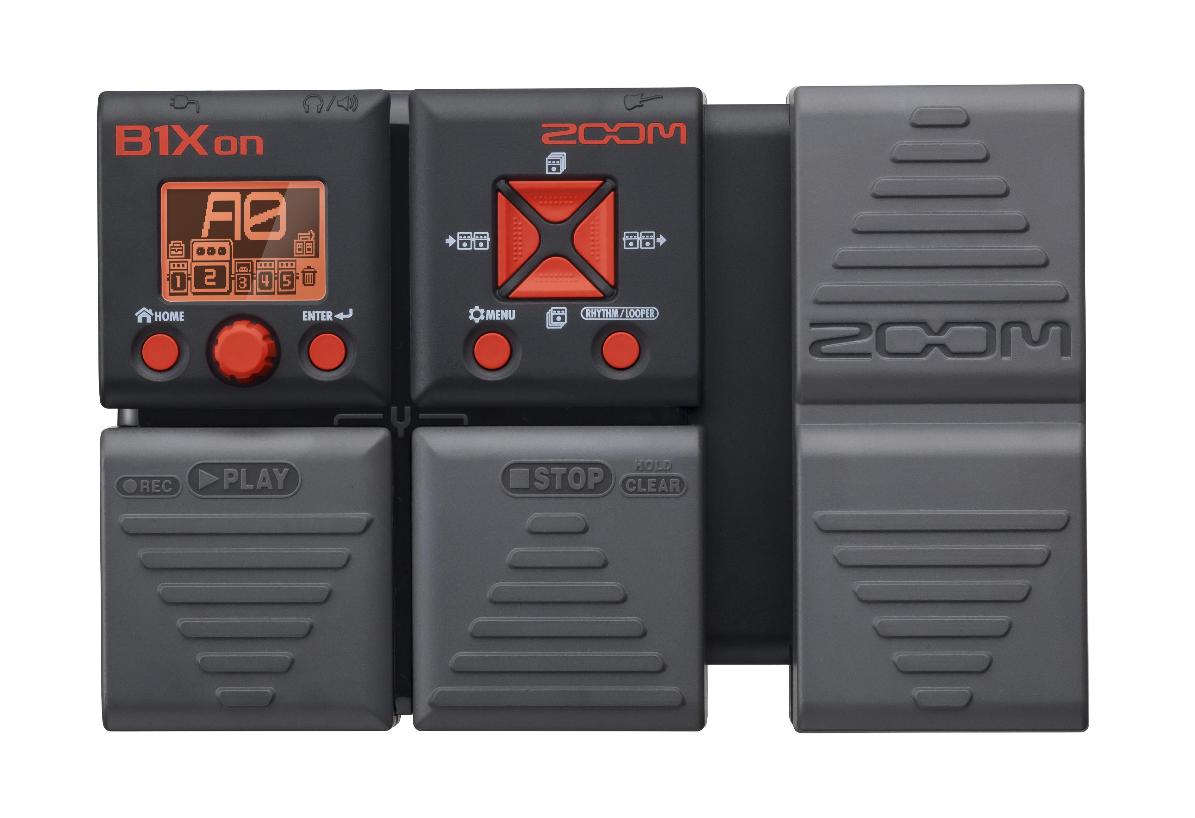 Zoom B1Xon Guitar Pedal Drivers Update
