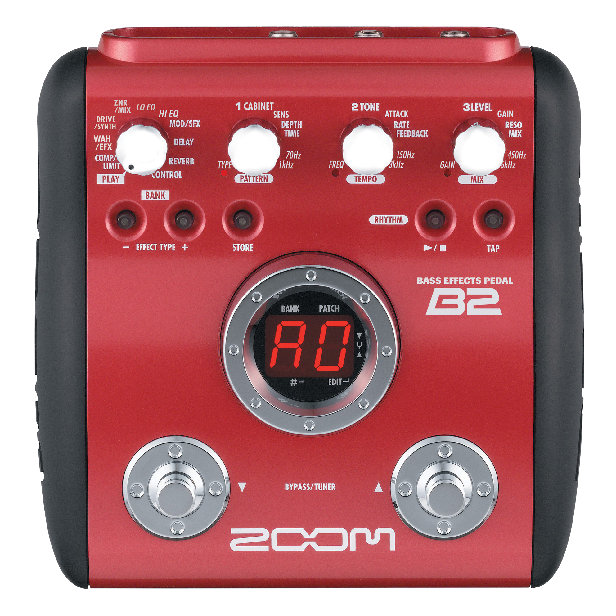 B2 Bass Effects Pedal Zoom