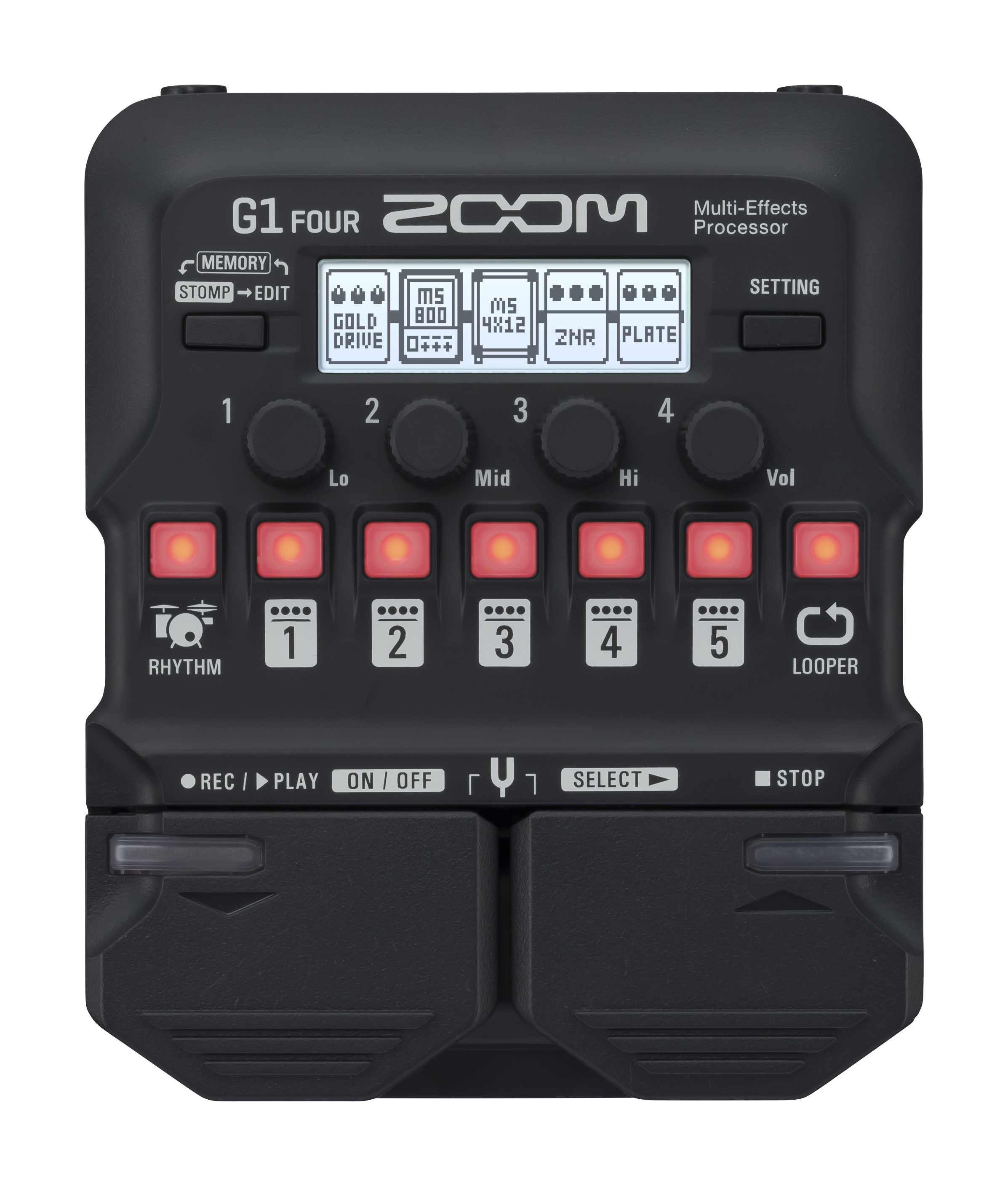 G1 FOUR / G1X FOUR Guitar Multi-Effects Processors | Zoom