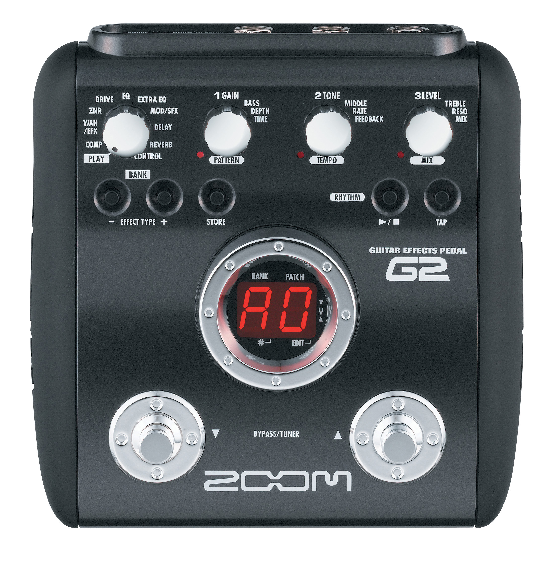 g2 guitar effects pedal zoom. Black Bedroom Furniture Sets. Home Design Ideas