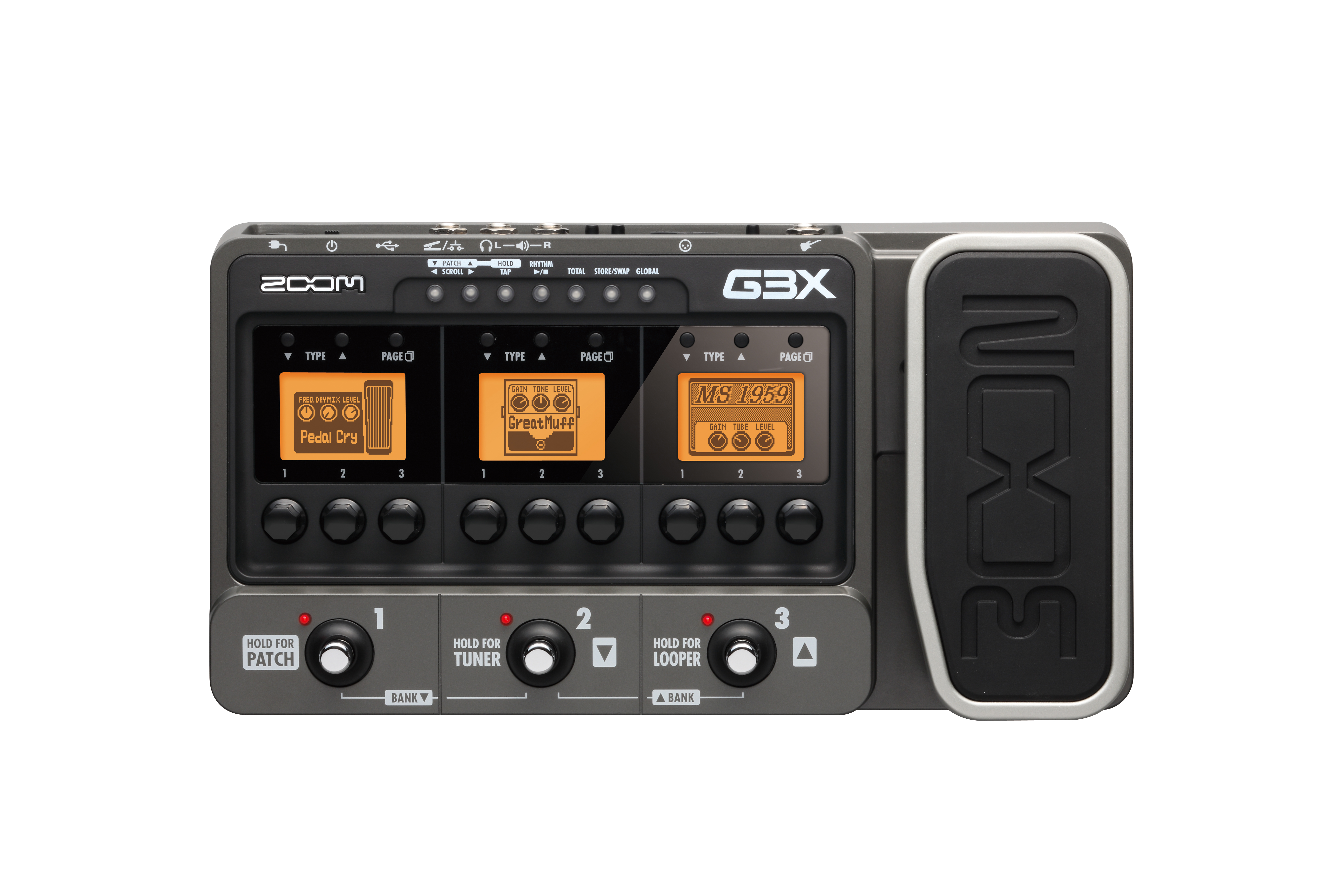 G3x Guitar Effects Amp Amp Simulator With Expression Pedal