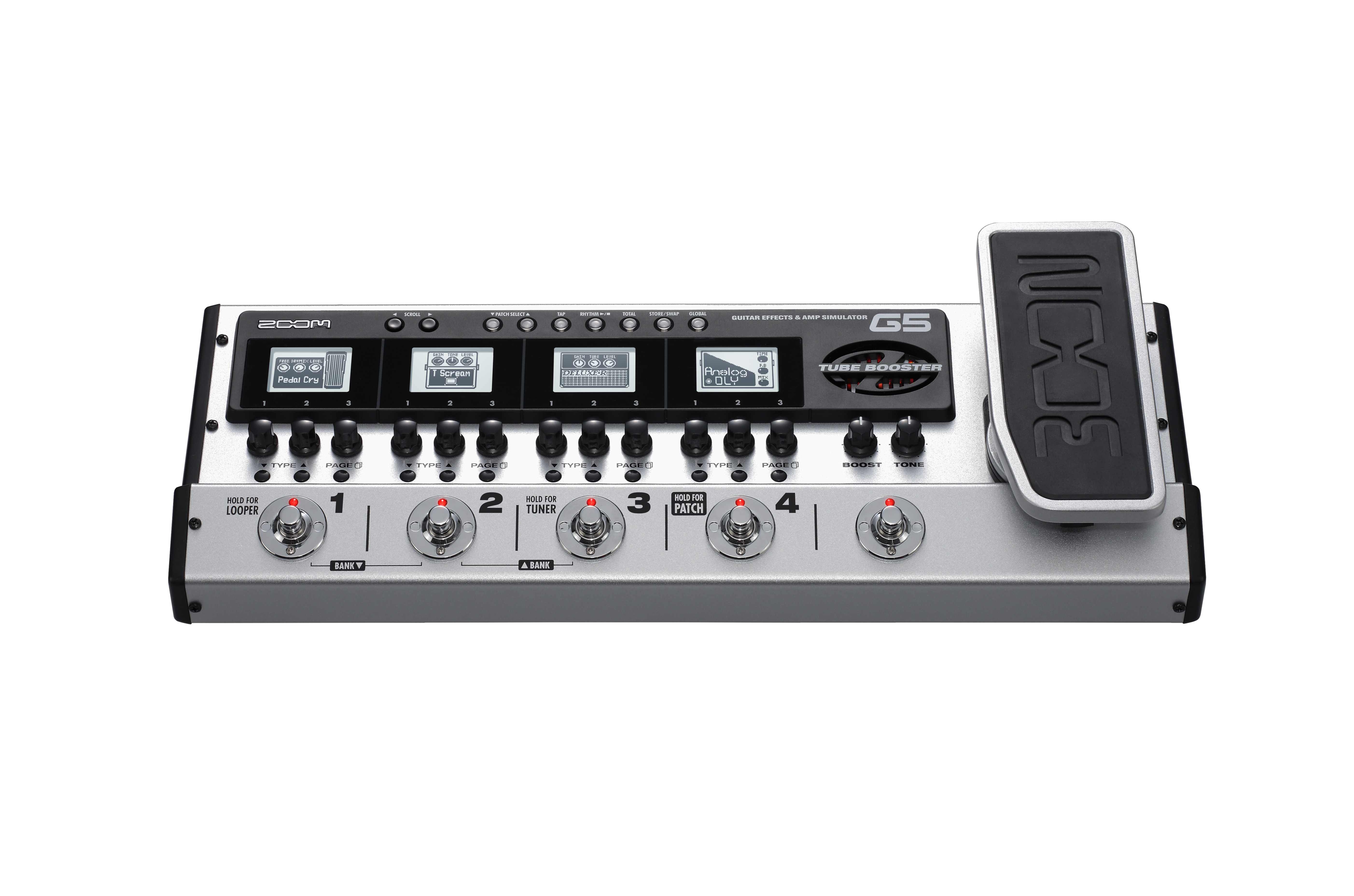 g5 guitar effects amp simulator pedal zoom. Black Bedroom Furniture Sets. Home Design Ideas