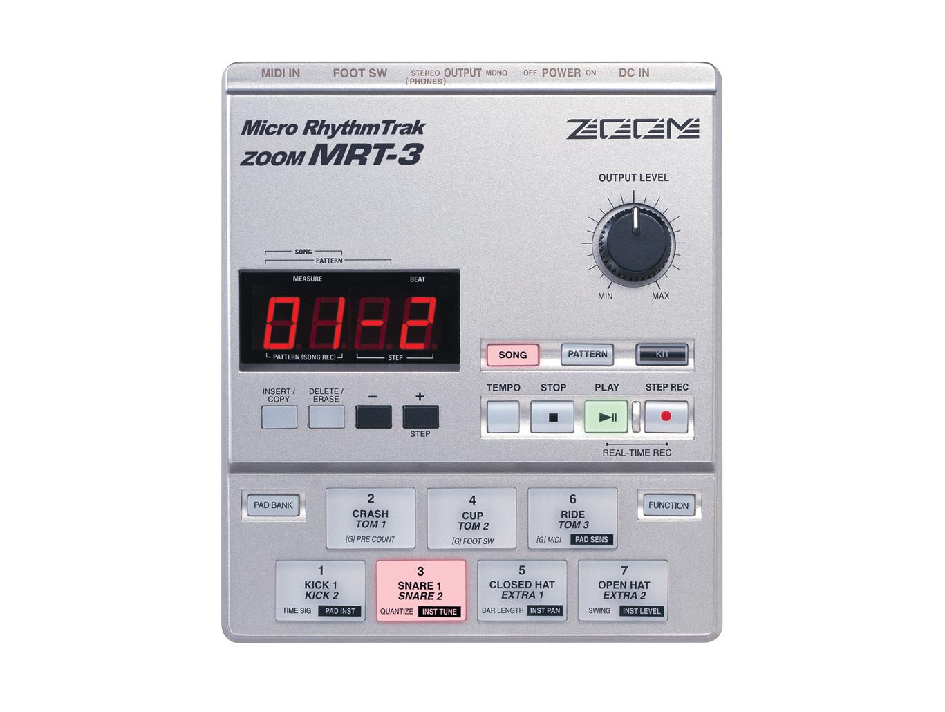zoom mrt3 micro rhythm trak drum machine