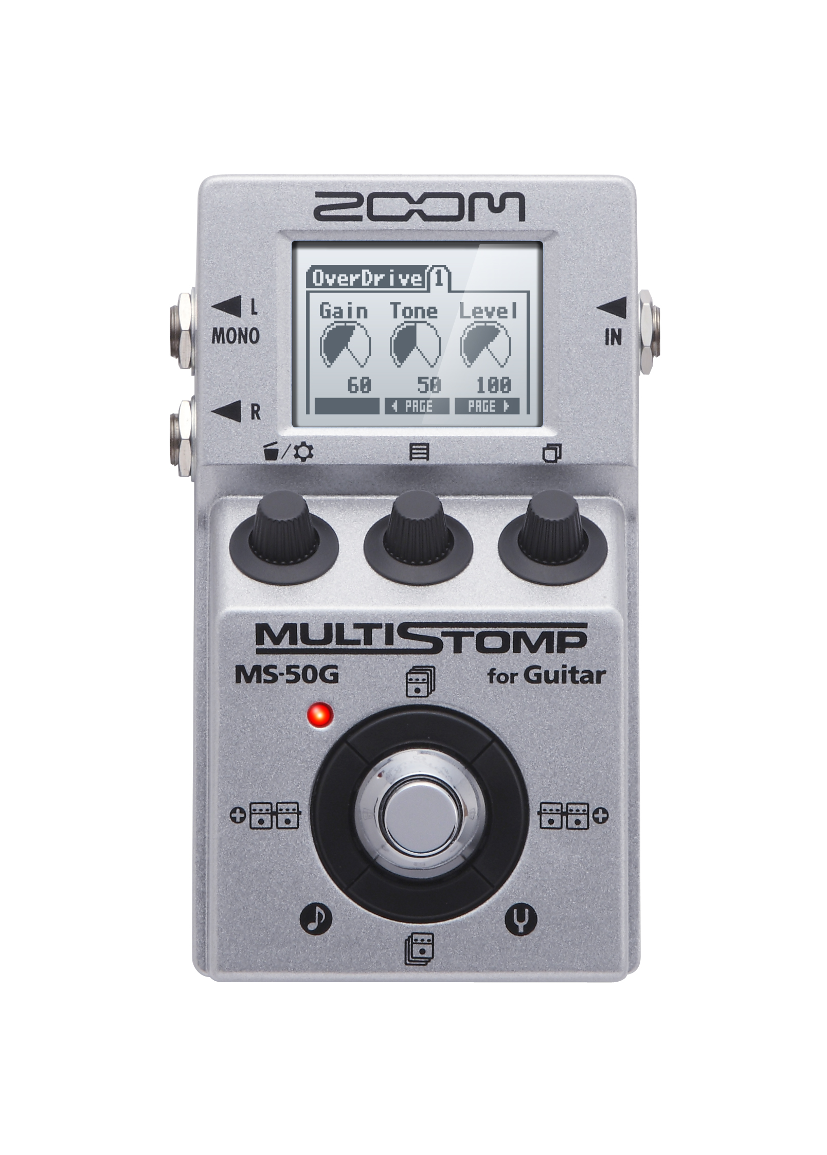 Ms 50g Multistomp Guitar Pedal Zoom