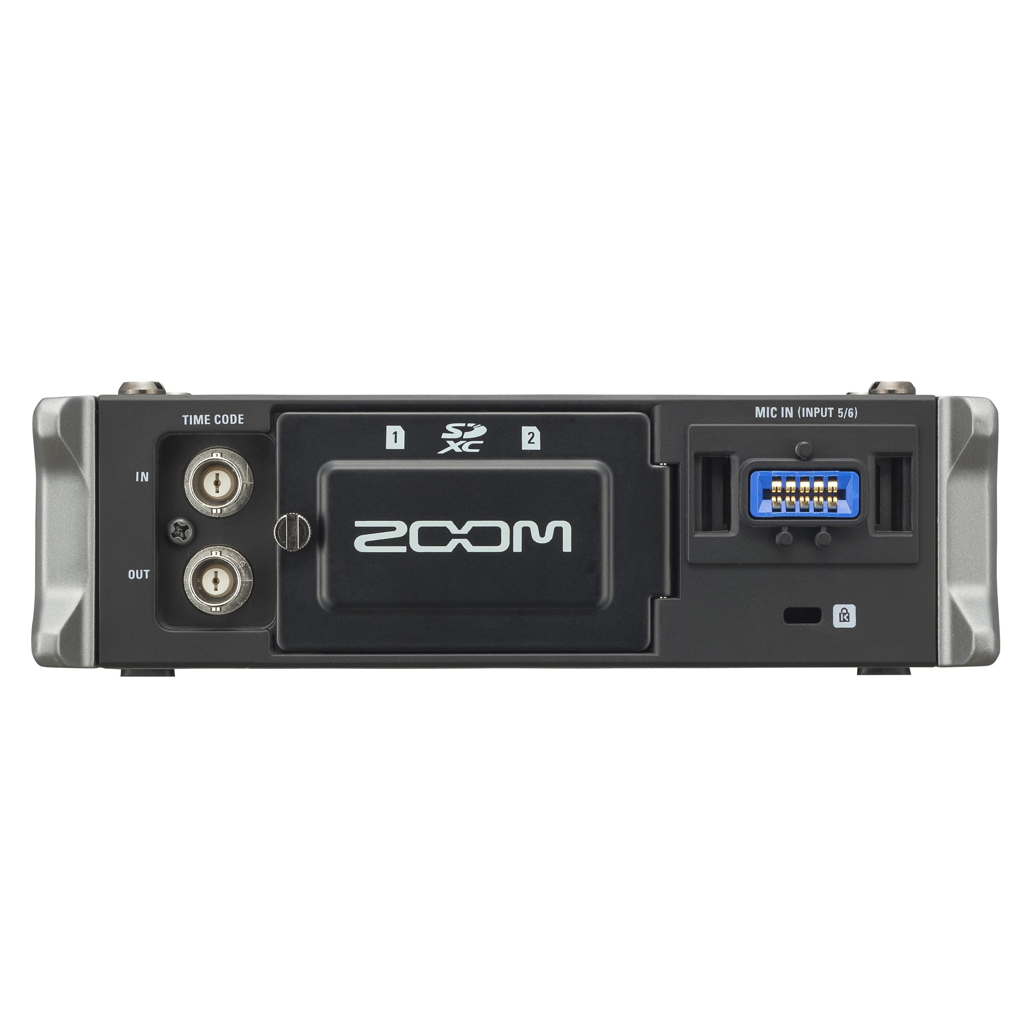 f4 multitrack field recorder zoom