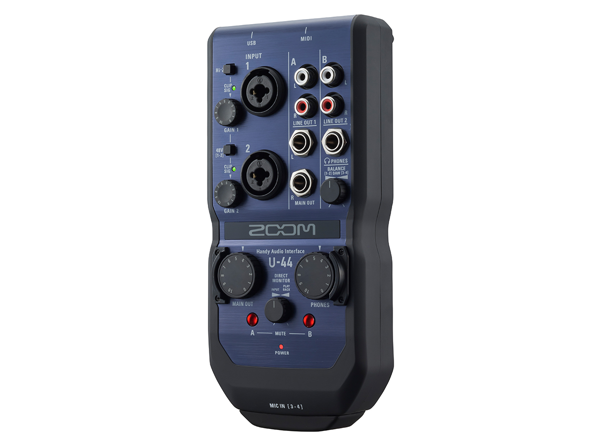 U44 Handy Audio Interface   Zoom