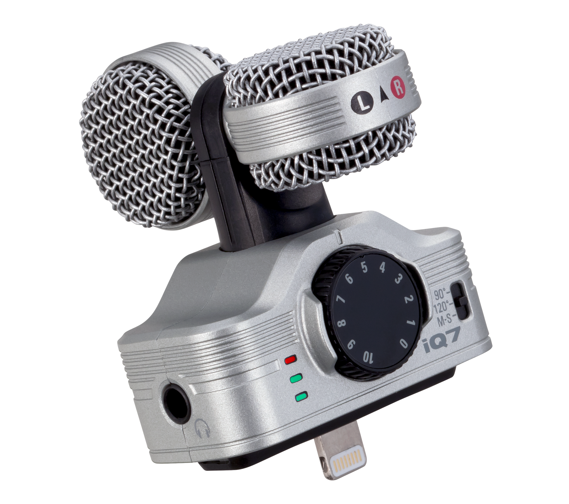 Iq7 Ms Stereo Microphone For Ios Zoom