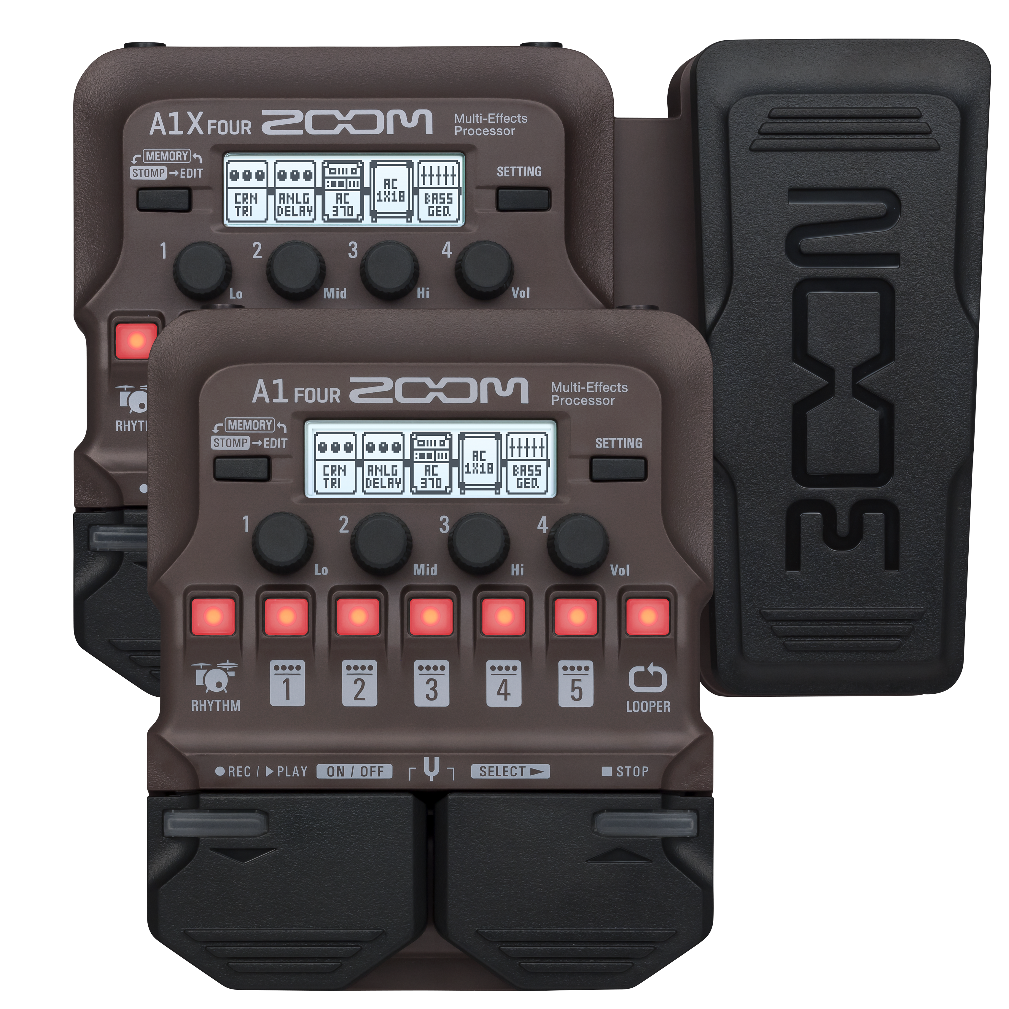 A1 FOUR / A1X FOUR Multi-Effects Processors | Zoom