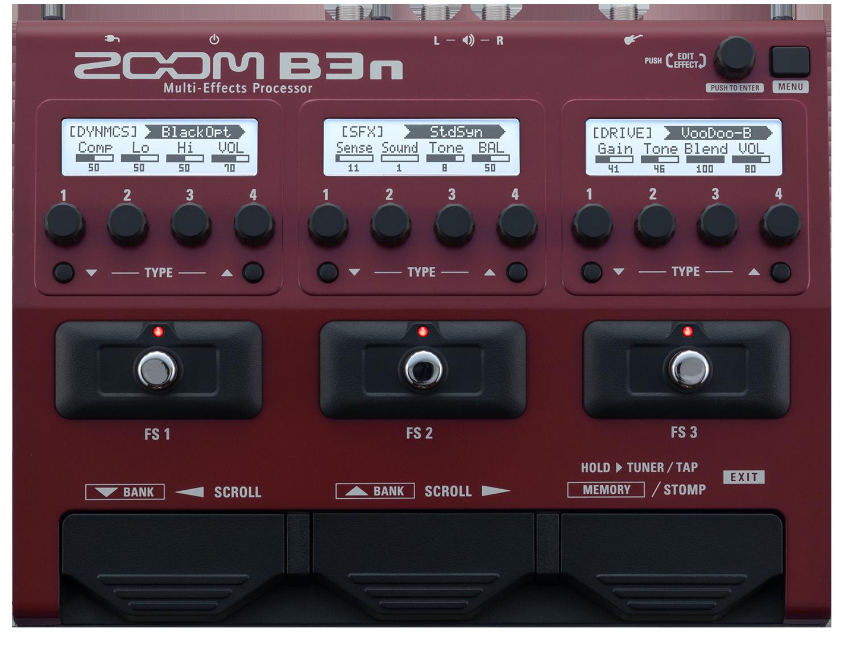 b3n multi effects processor zoom. Black Bedroom Furniture Sets. Home Design Ideas
