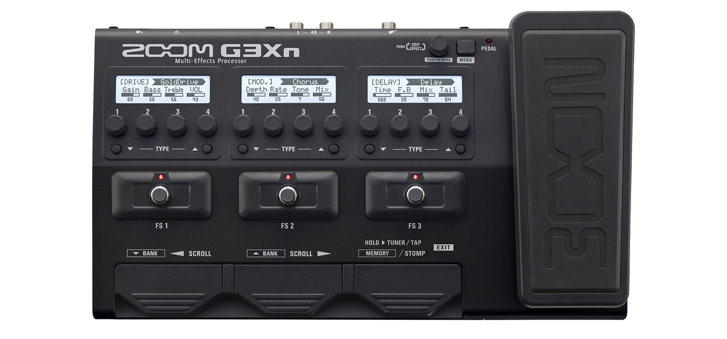 g3xn multi effects processor zoom. Black Bedroom Furniture Sets. Home Design Ideas