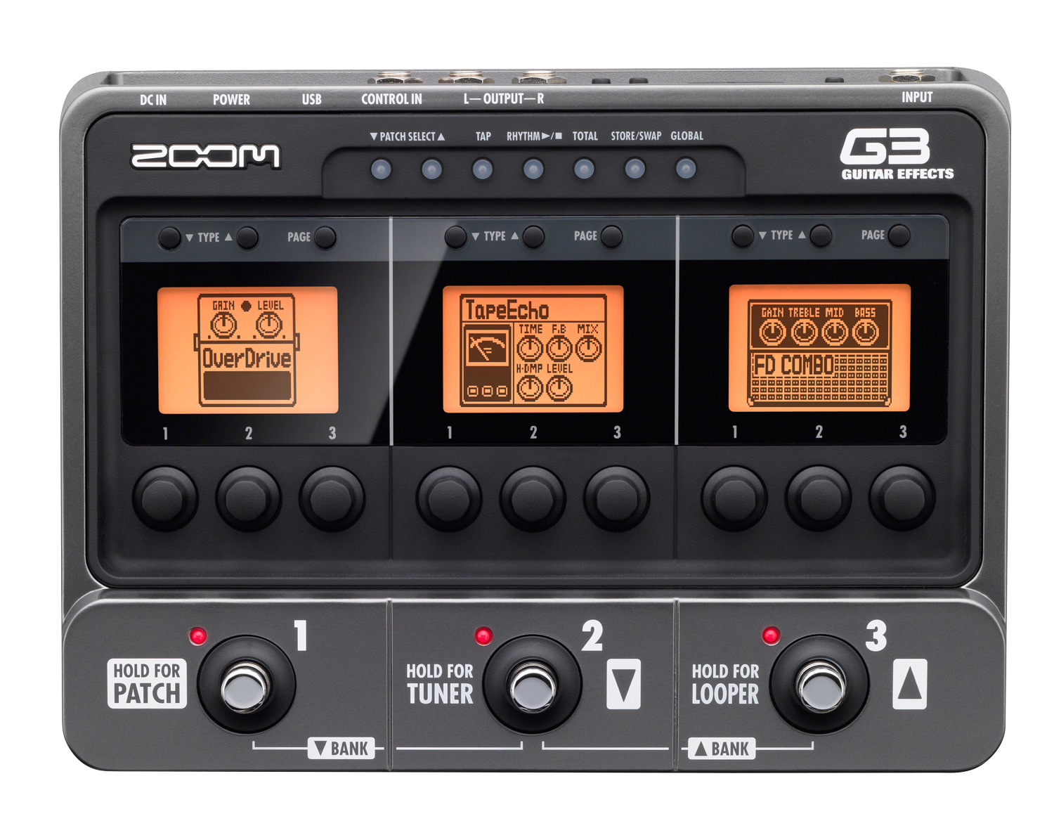 G3 Guitar Effects & Amp Simulator Pedal | Zoom
