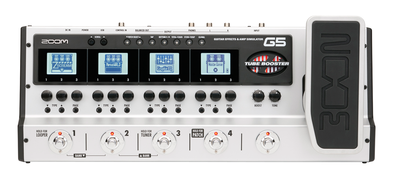 g5 guitar effects amp simulator pedal zoom. Black Bedroom Furniture Sets. Home Design Ideas