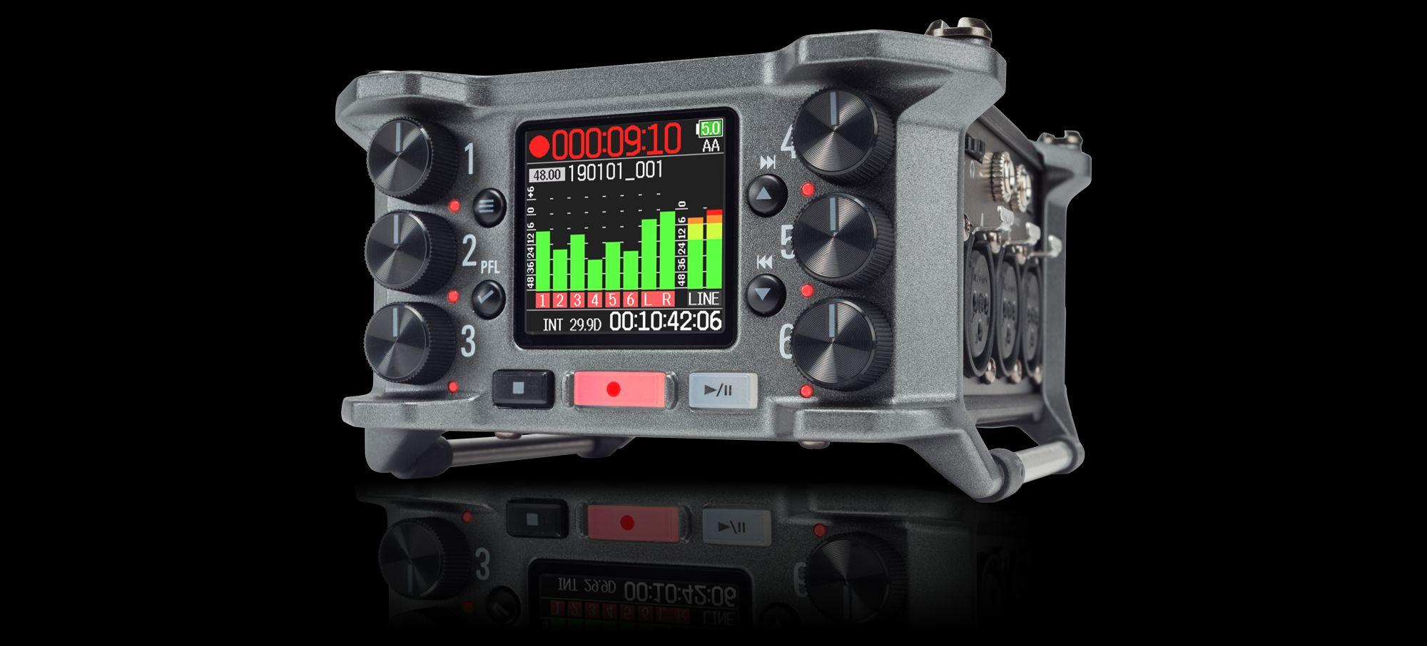 Zoom F6 MultiTrack Field Recorder   Zoom