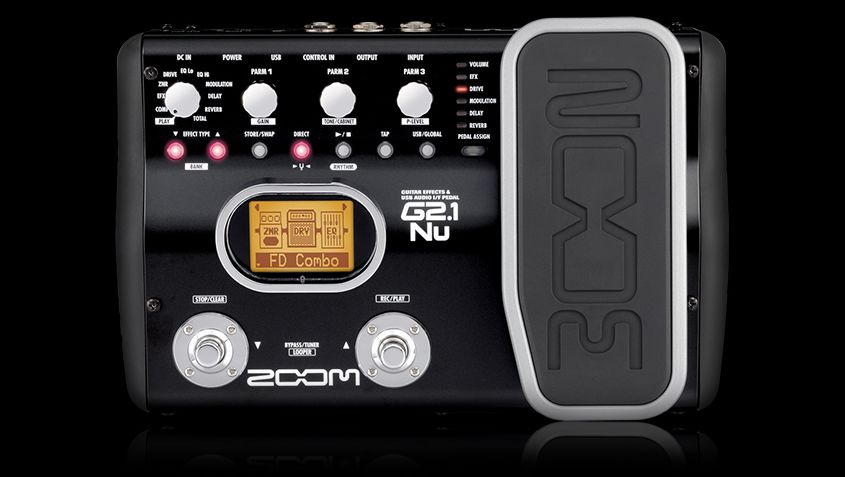 Zoom G2.1Nu Guitar Effects Pedal