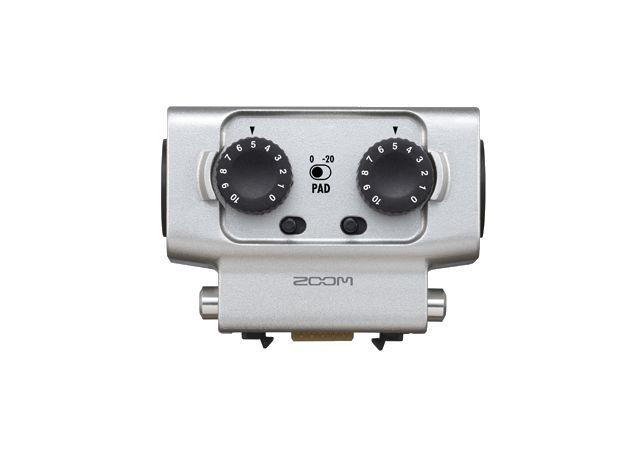 EXH-6 - Dual XLR/TRS Input Capsule | Zoom