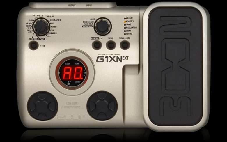 g1xn guitar effects pedal zoom. Black Bedroom Furniture Sets. Home Design Ideas
