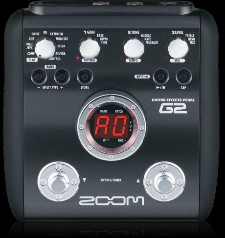 g2 guitar effects pedal zoom rh zoom co jp Zoom G2 Cartoon Zoom G2 1U