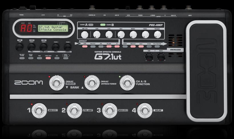 Zoom G7.1UT Guitar Effects Processor 3
