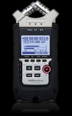ZOOM リニアPCM/ICハンディレコーダー H4nPro