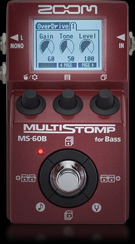 ms 60b multistomp bass pedal zoom. Black Bedroom Furniture Sets. Home Design Ideas