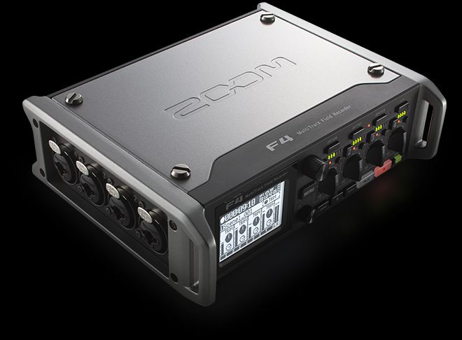 F4 MultiTrack Field Recorder | Zoom