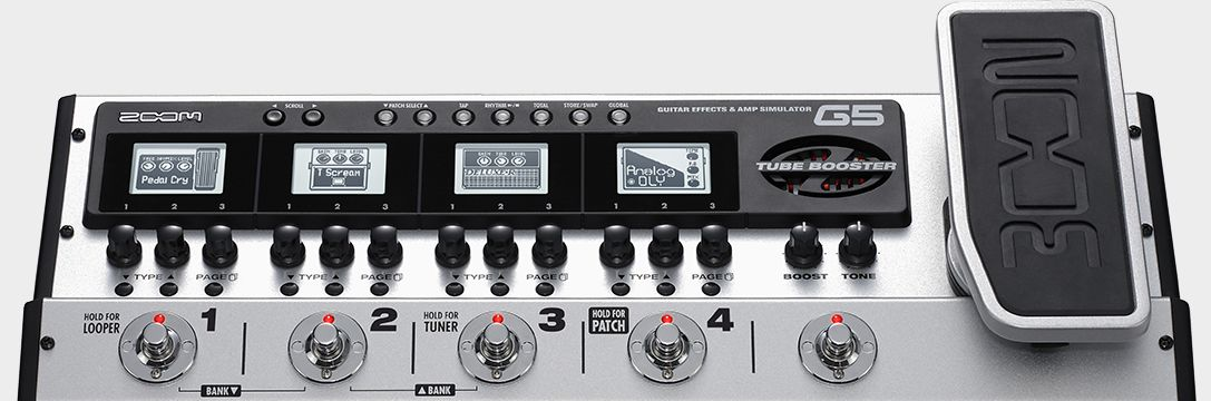 New Driver: ZOOM G5 Guitar Pedal ASIO