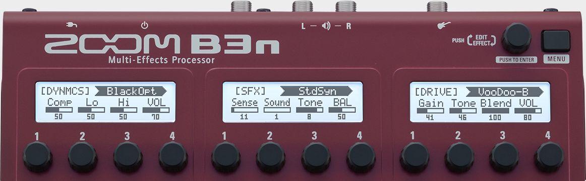 B3n Multi-Effects Processor | Zoom