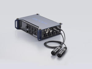 Zoom F8 MultiTrack Field Recorder: TA-3 to XLR