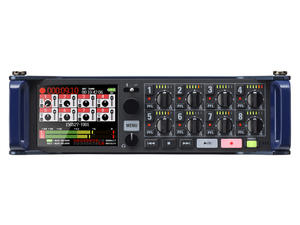 Zoom F8 MultiTrack Field Recorder: Front