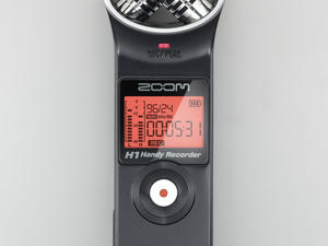 Zoom H1 Handy Recorder - Top View