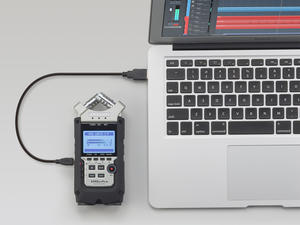 Zoom H4n Pro: USB + Computer