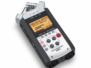 Zoom H4n Handy Recorder: Top slant