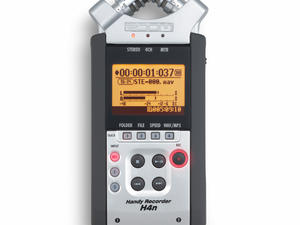 Zoom H4n Handy Recorder: Top view