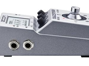 Zoom MS-50G MultiStomp Guitar Pedal - Left Side Slant