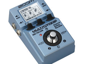 Zoom MS-70CDR MultiStomp Chorus / Delay / Reverb Pedal - Slant Left