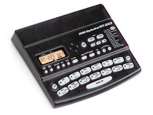 Zoom RT-223 RhythmTrak Drum Machine - Slant Left